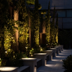 Antonangeli' project in and outdoor - Fifty house hotel - Milano (italy)