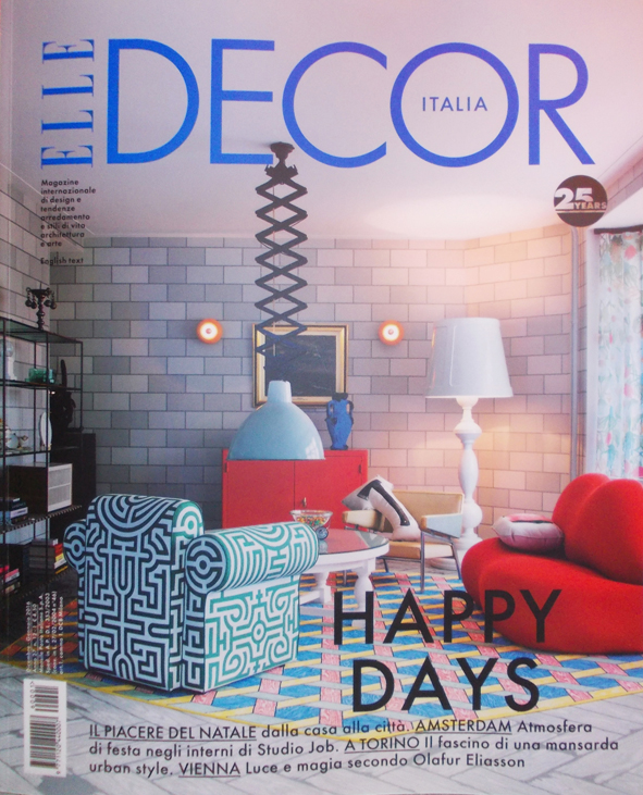 ELLE DECOR - dec. 2015/Jan. 2016